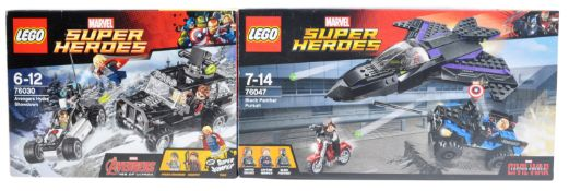 LEGO SETS - LEGO MARVEL SUPERHEROES - 76030 / 76047