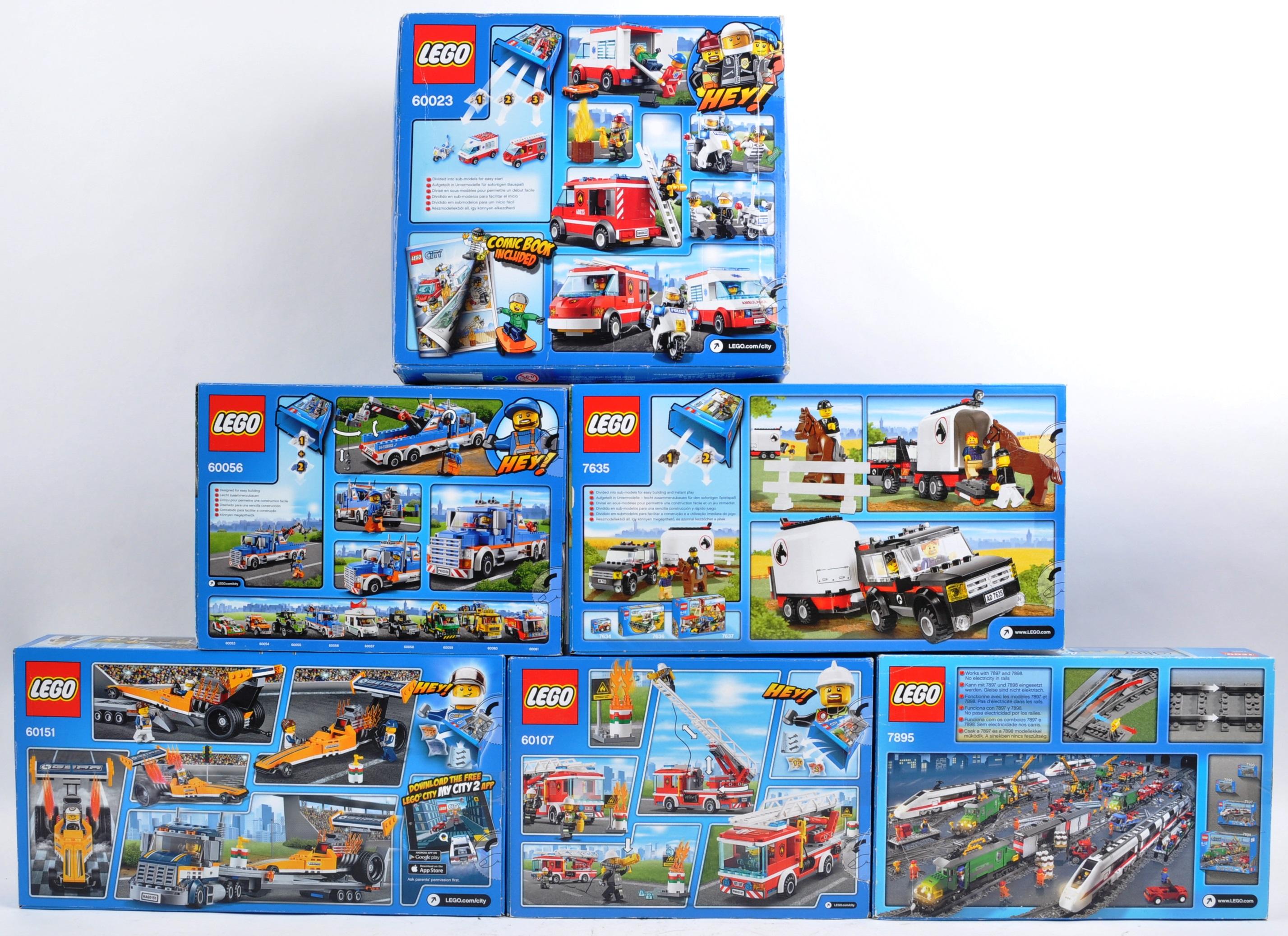 LEGO SETS - LEGO CITY - 7635 / 7895 / 60023 / 60056 / 60107 / 60151 - Image 2 of 3
