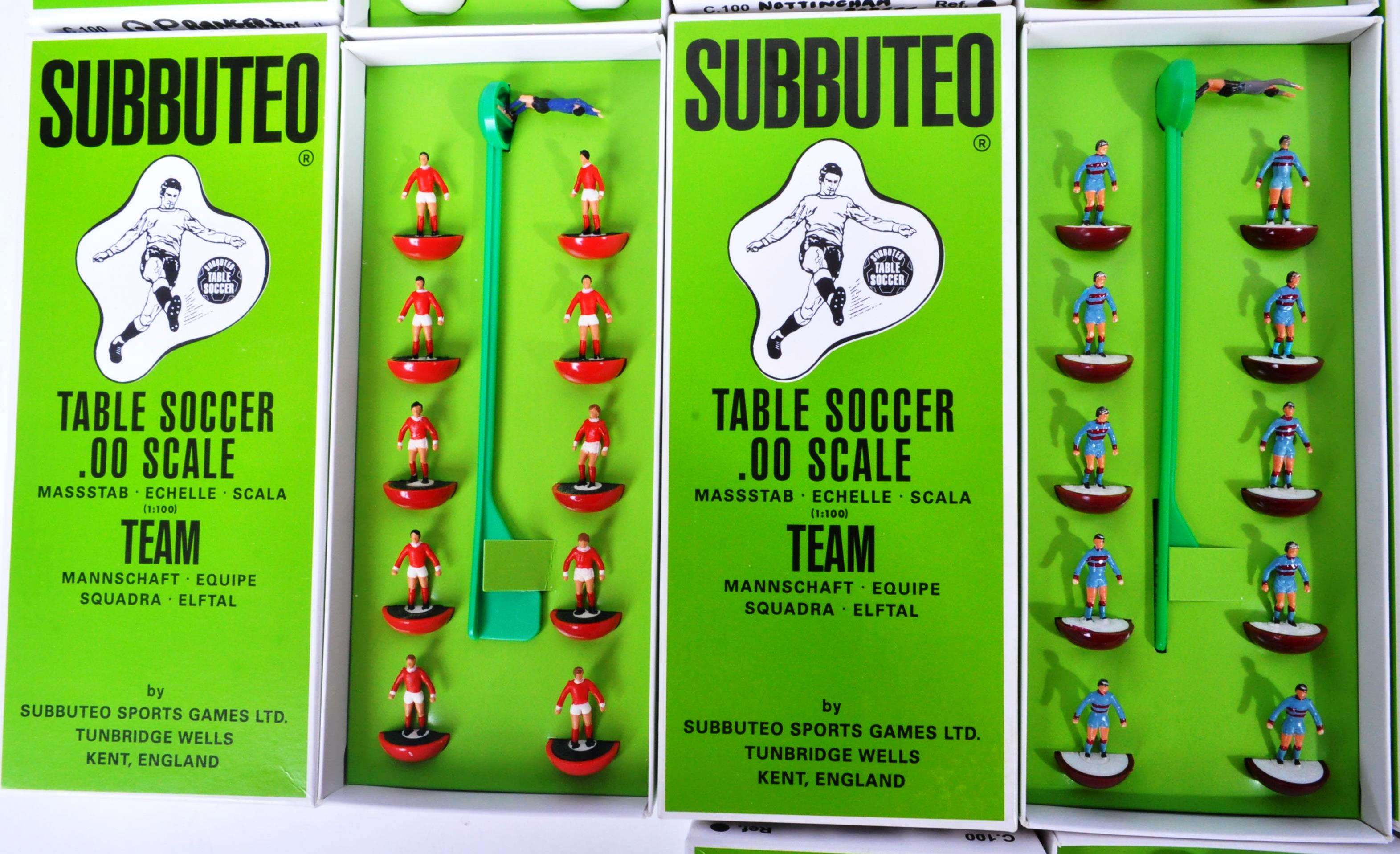COLLECTION OF X10 ASSORTED VINTAGE SUBBUTEO FOOTBALL TEAMS - Image 5 of 6