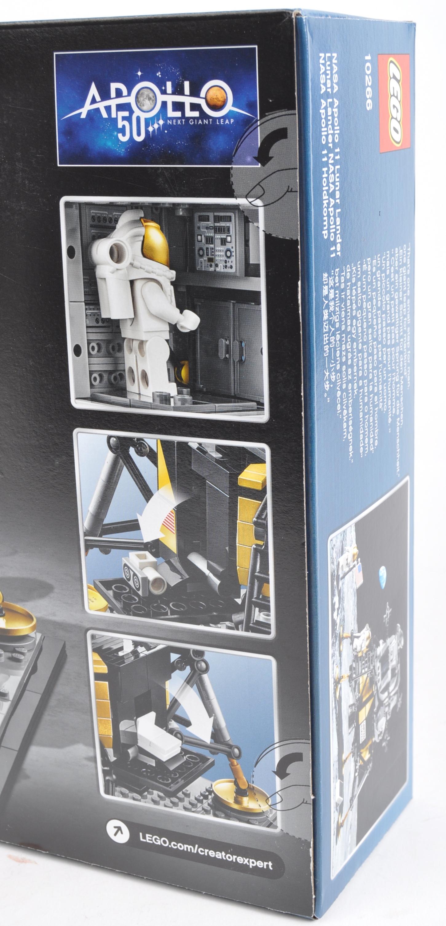 LEGO SET - LEGO CREATOR - 10266 - NASA APOLLO 11 LUNAR LANDER - Image 3 of 3