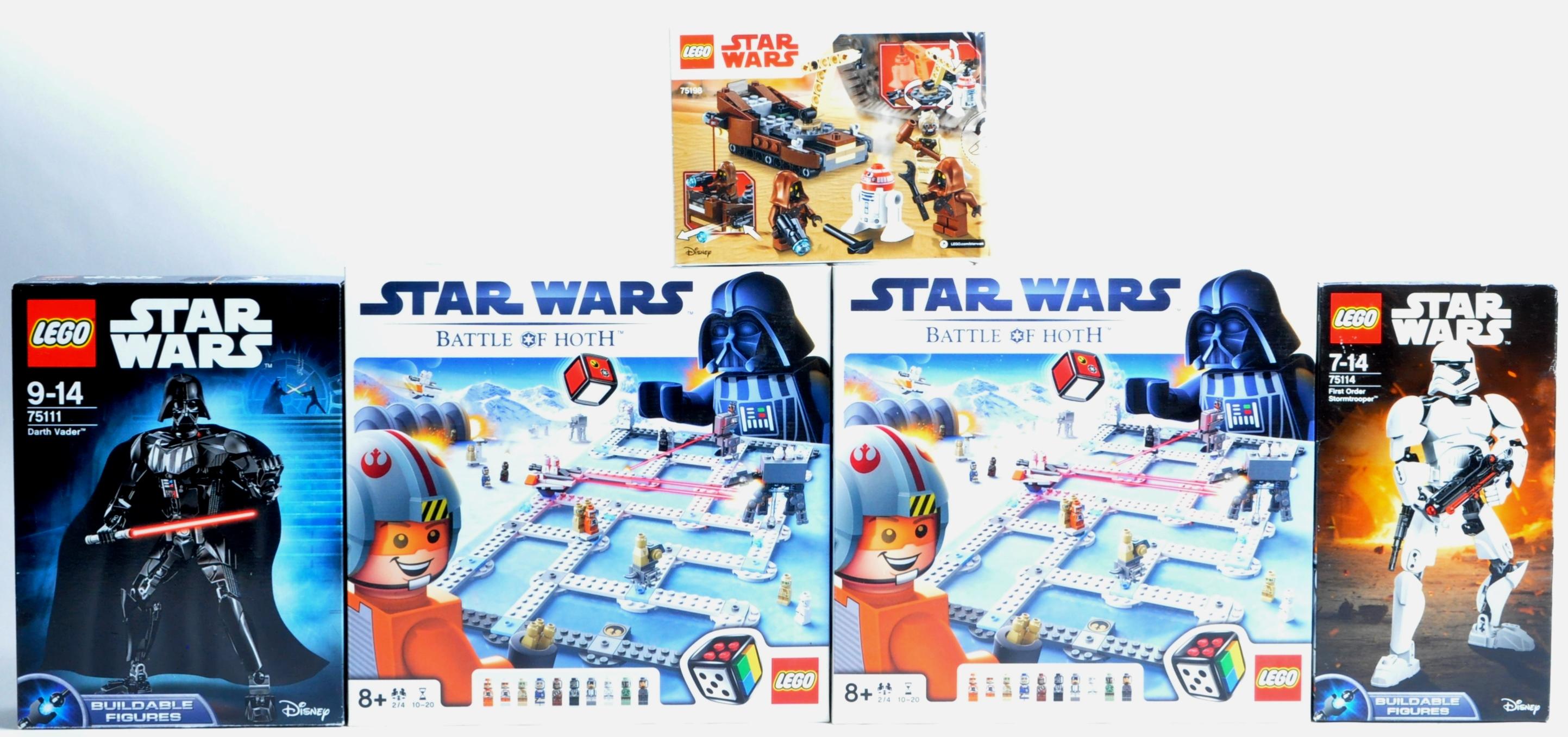 LEGO SETS - LEGO STAR WARS - 3866 / 75111 / 75114 / 75198