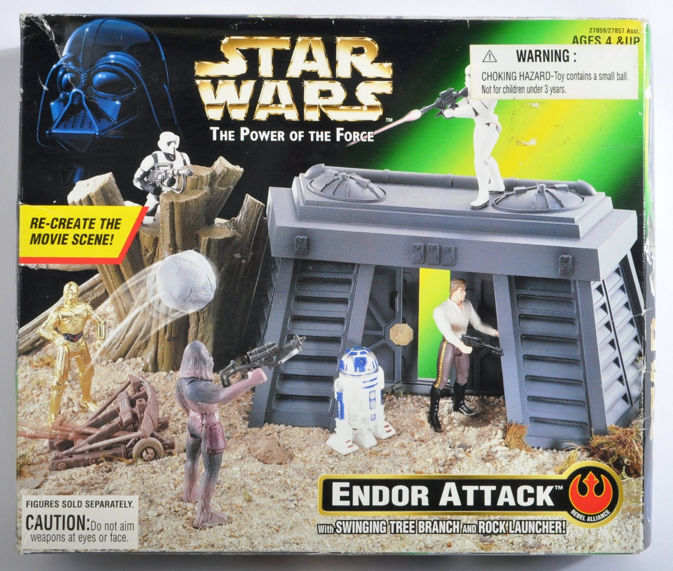 STAR WARS - KENNER POWER OF THE FORCE SEALED PLAYSET