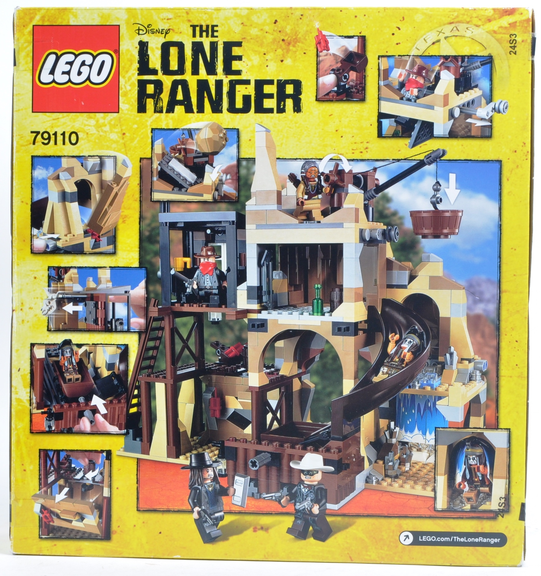 LEGO SET - THE LONE RANGER - 79110 - SILVER MINE SHOOTOUT - Image 2 of 4