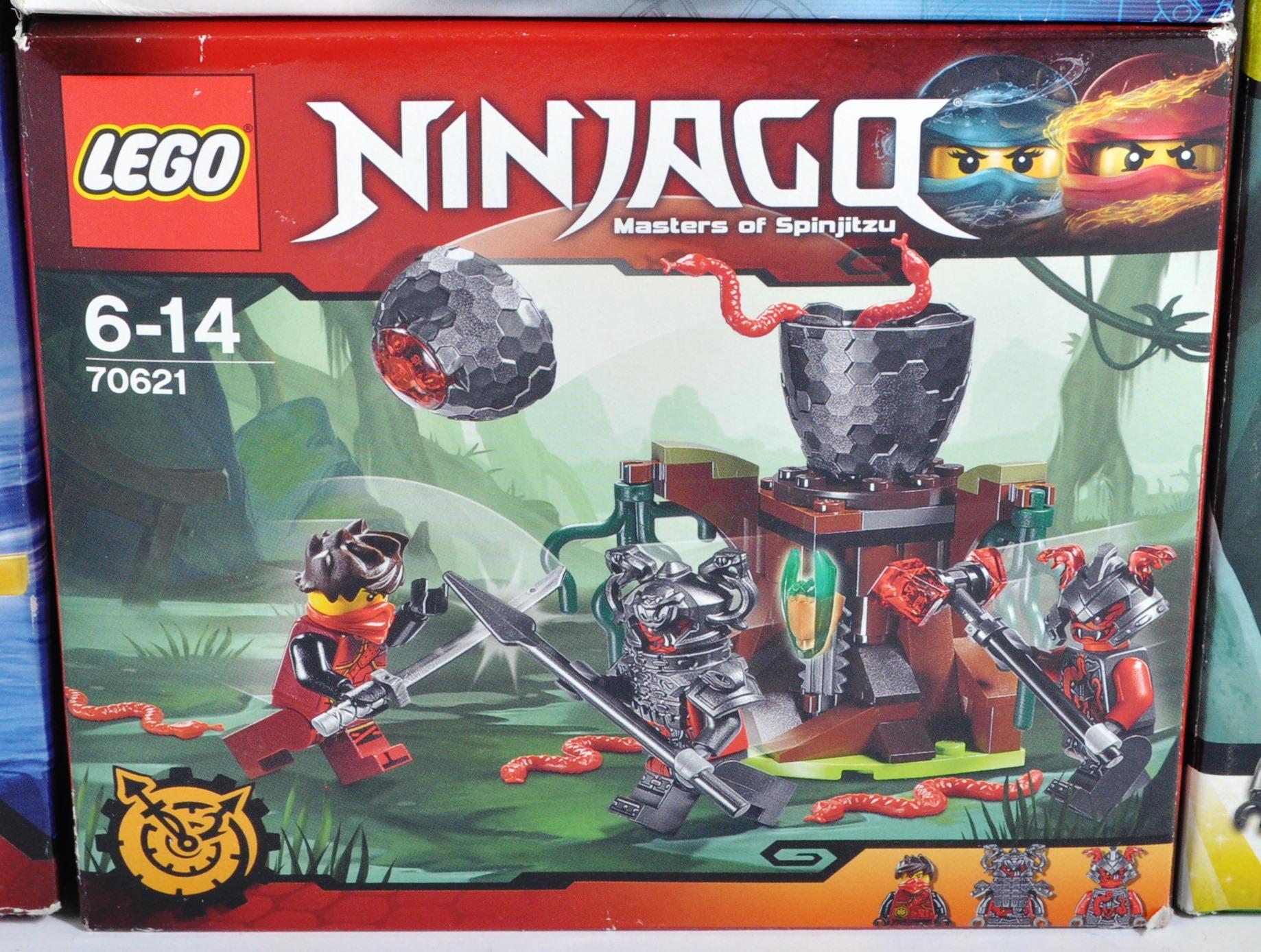 LEGO SETS - LEGO NINJAGO - COLLECTION OF X8 LEGO NINJAGO SETS - Image 8 of 9