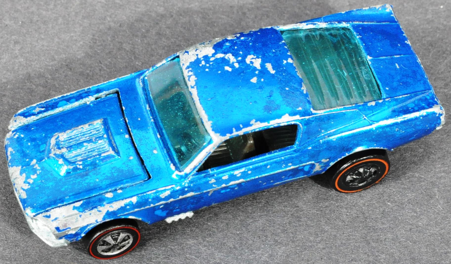 RARE HOT WHEELS CUSTOM MUSTANG WITH LOUVERED WINDOW - Image 2 of 5