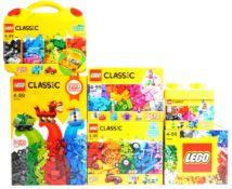 LEGO SETS - LEGO CLASSIC BUILD AND REBUILD SETS