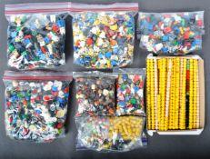 LEGO MINIFIGURES - HUGE QUANTITY OF ASSORTED LEGO MINIFIGURE PARTS