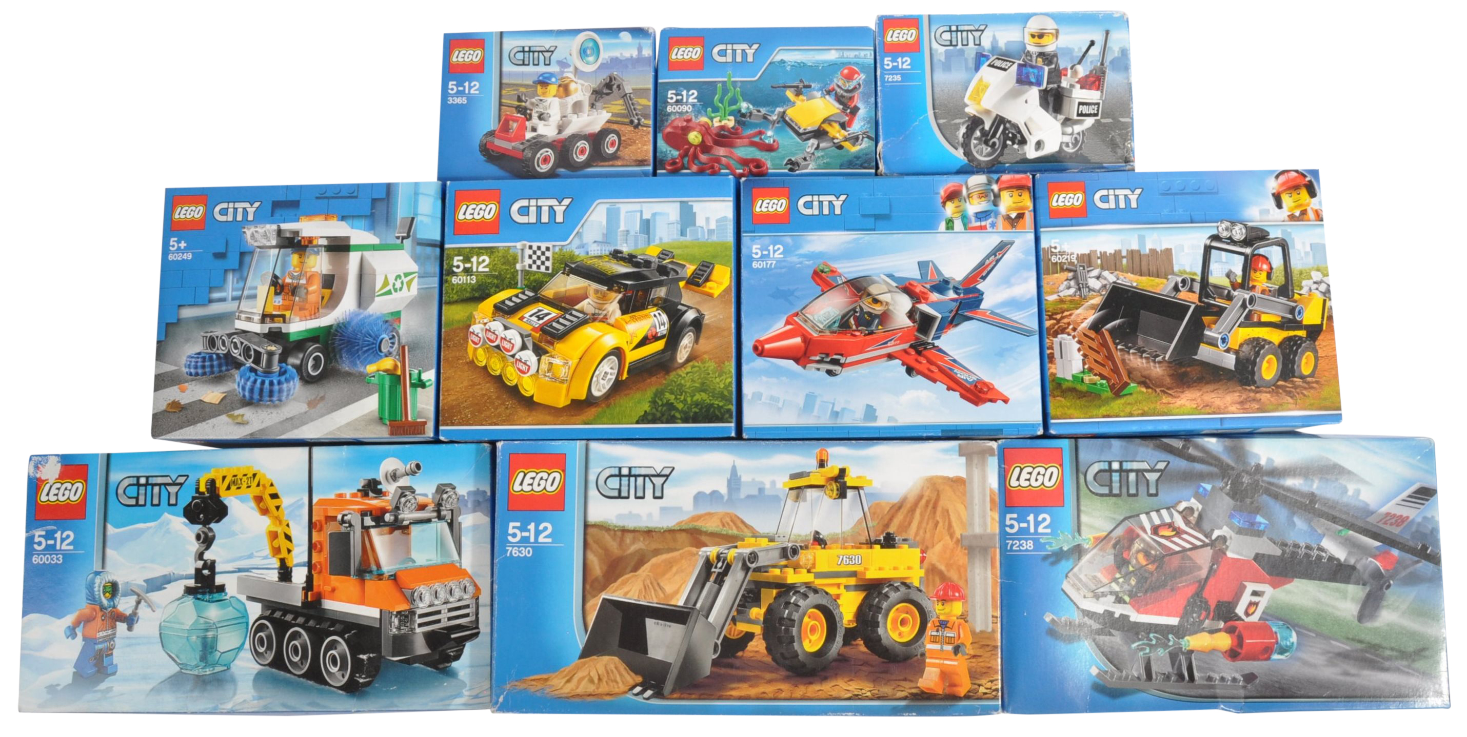 LEGO SETS - LEGO CITY - A COLLECTION OF X10 LEGO CITY SETS
