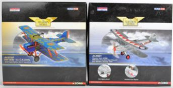 CORGI AVIATION ARCHIVE - TWO BOXED 1/72 & 1/48 SCALE MODELS