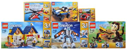 LEGO SETS - LEGO CREATOR 3 IN 1 - COLLECTION OF X6 LEGO SETS