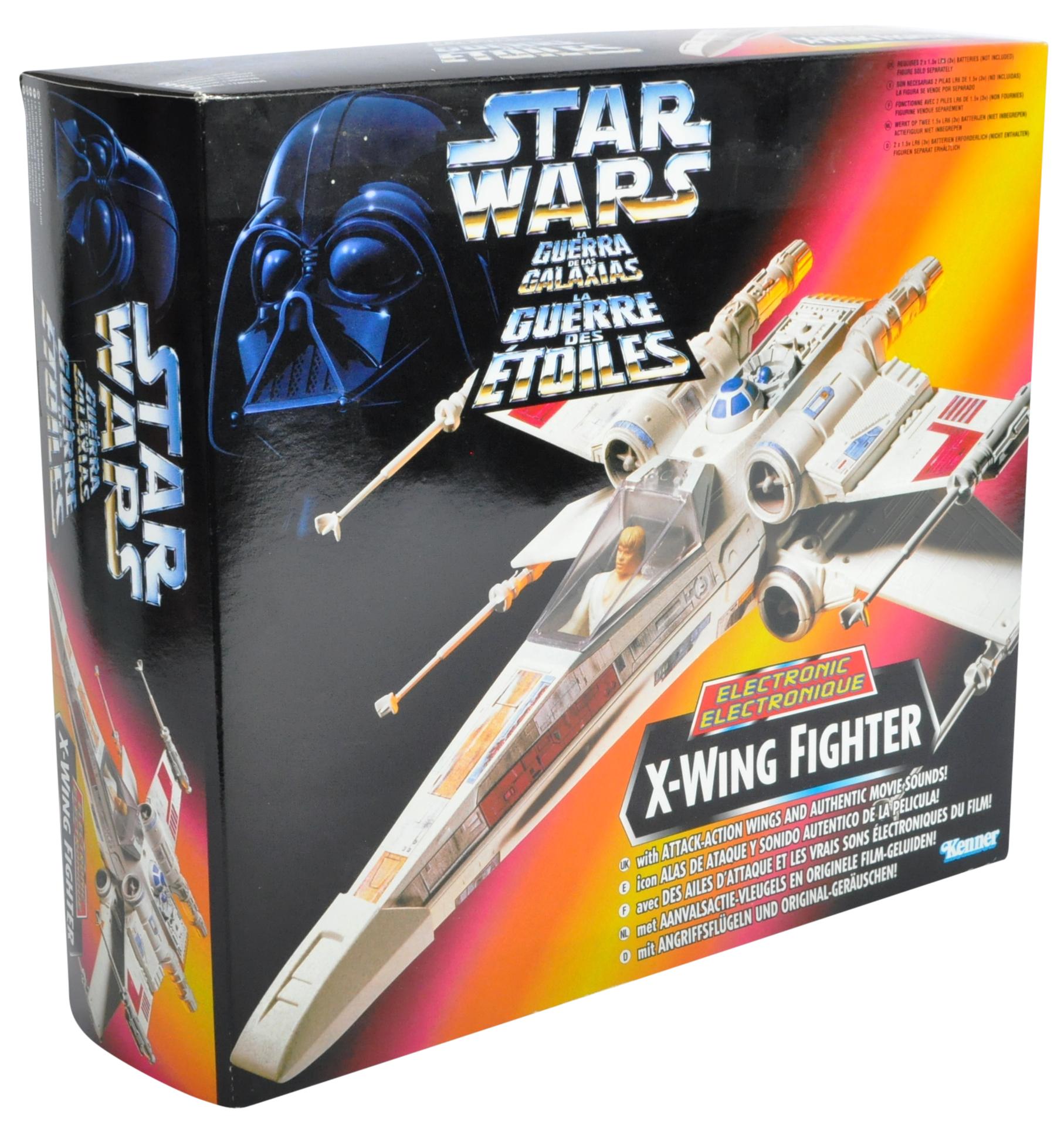 STAR WARS -VINTAGE KENNER BOXED ACTION FIGURE PLAYSET