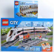 LEGO SET - LEGO CITY - 60051 - HIGH-SPEED PASSENGER TRAIN & TRACK