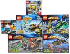 LEGO SETS - LEGO DC COMICS SUPERHEROES - COLLECTION OF X6 SETS