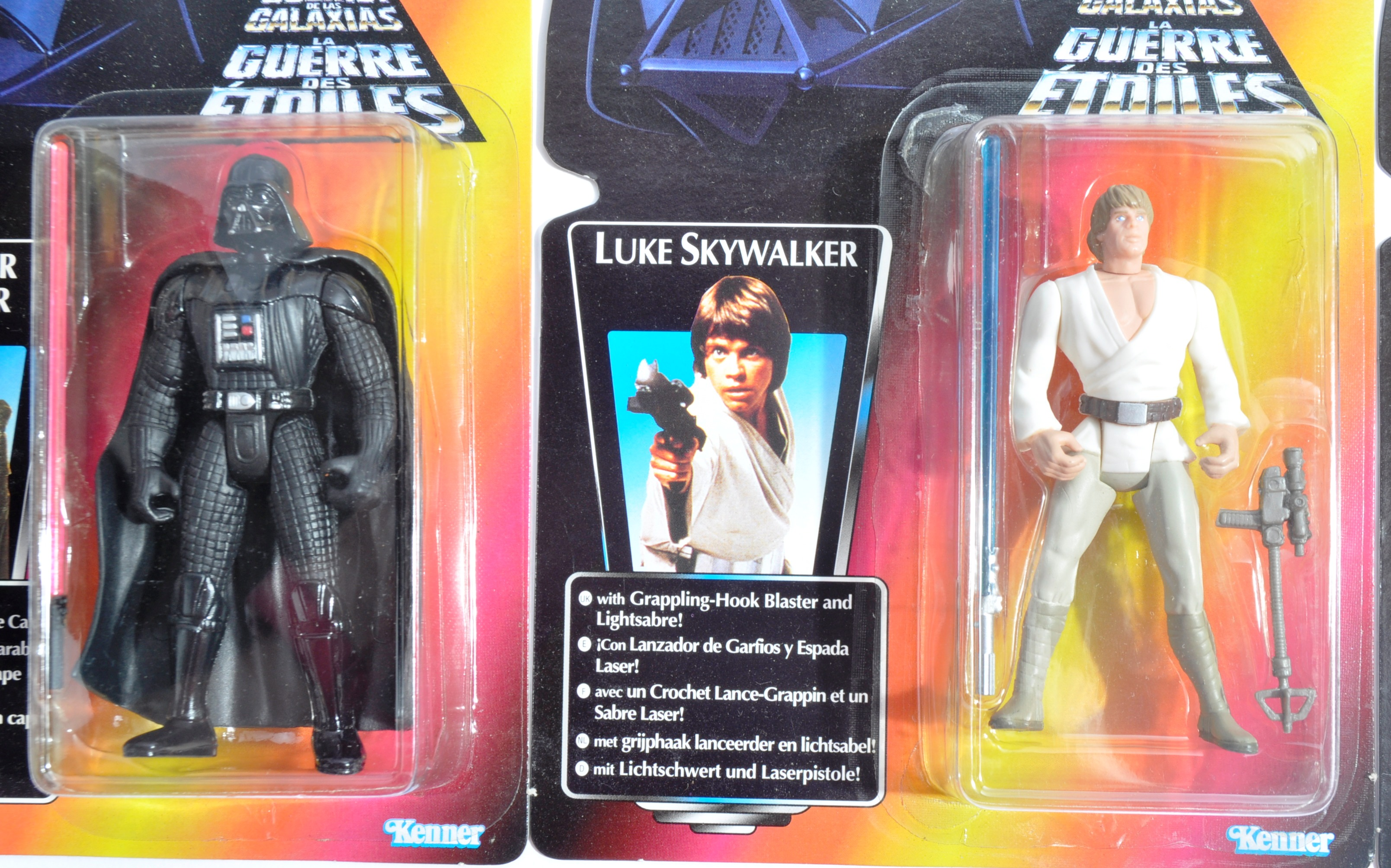 STAR WARS - COLLECTION OF KENNER CARDED ACTION FIGURES - Image 3 of 6