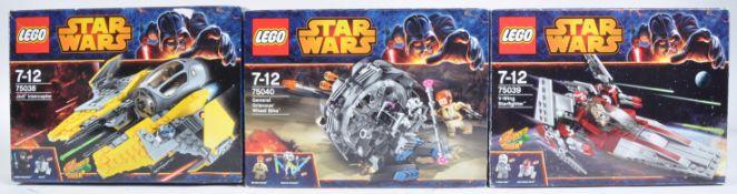 LEGO SETS - LEGO STAR WARS - 75038 / 75039 / 75040