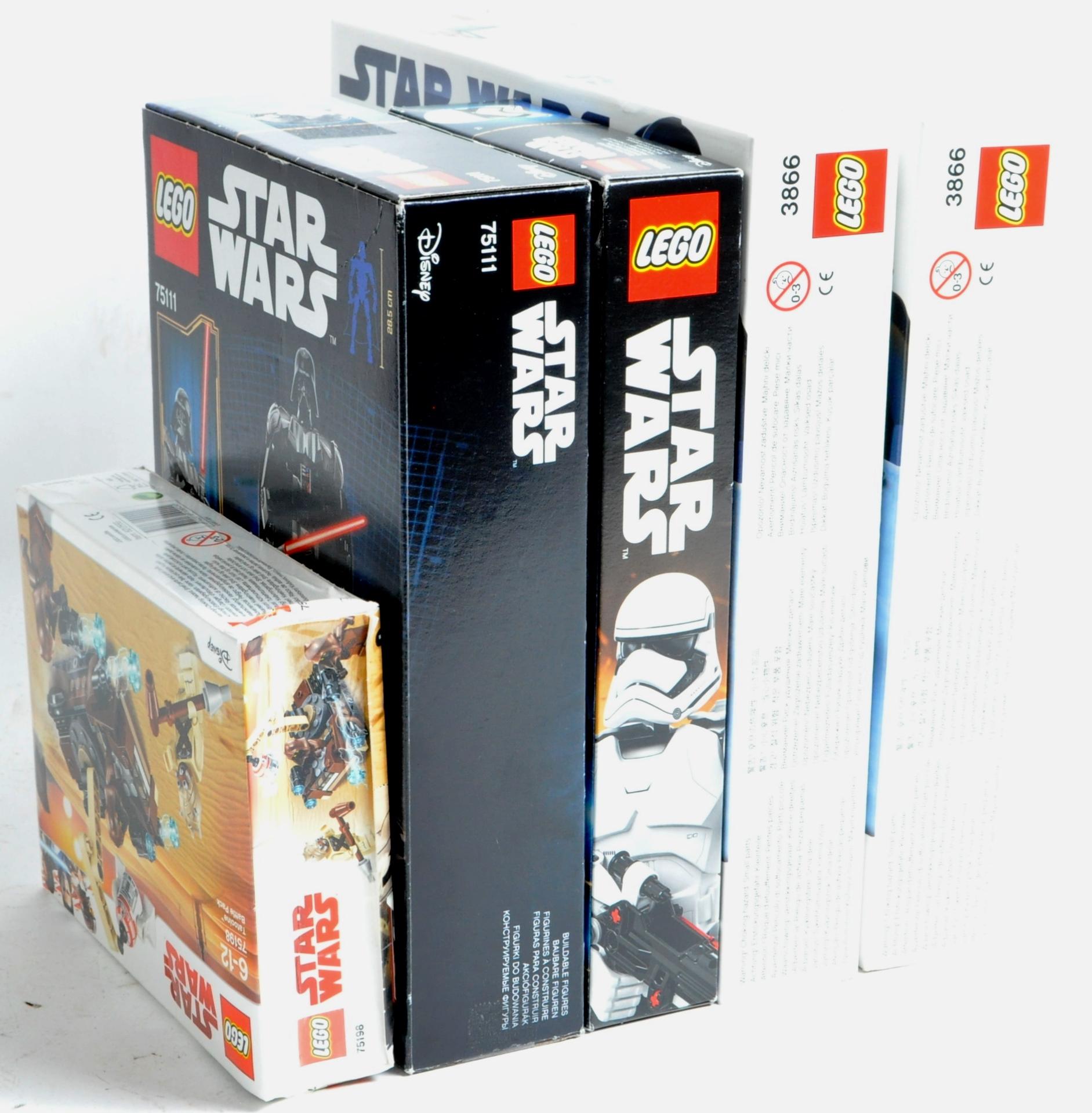 LEGO SETS - LEGO STAR WARS - 3866 / 75111 / 75114 / 75198 - Image 7 of 8