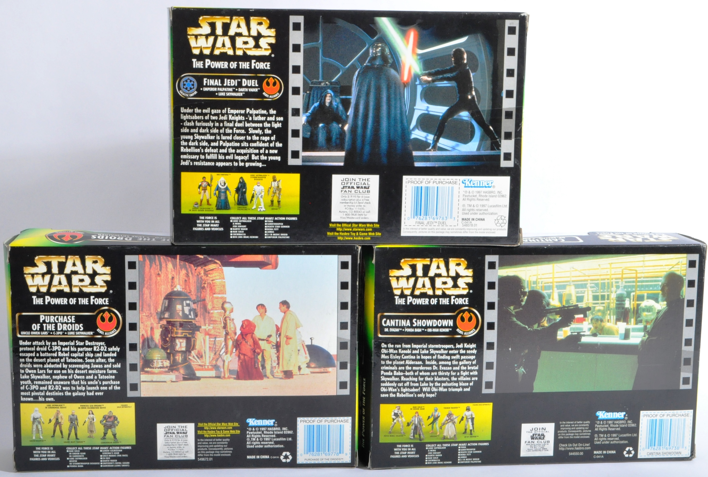 STAR WARS - COLLECTION OF KENNER POWER OF THE FORCE ACTION FIGURES - Image 2 of 5
