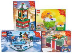 LEGO SETS - SEASONAL LIMITED EDITIONS FACTORY SEALED
