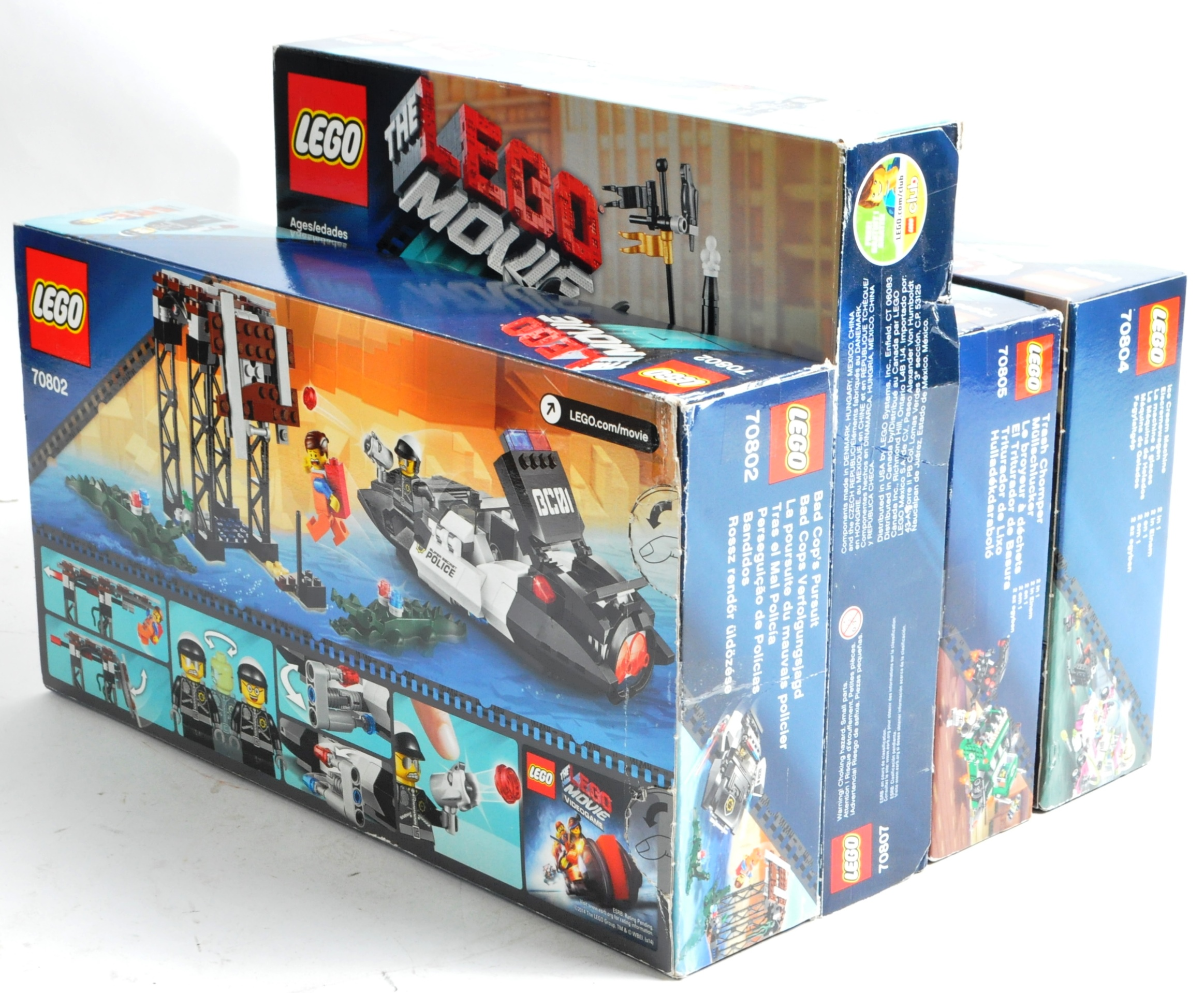 LEGO SETS - THE LEGO MOVIE - COLLECTION OF X7 LEGO MOVIE SETS - Image 17 of 17