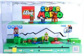 LEGO - SUPER MARIO IN STORE ADVERTISING DISPLAY SET