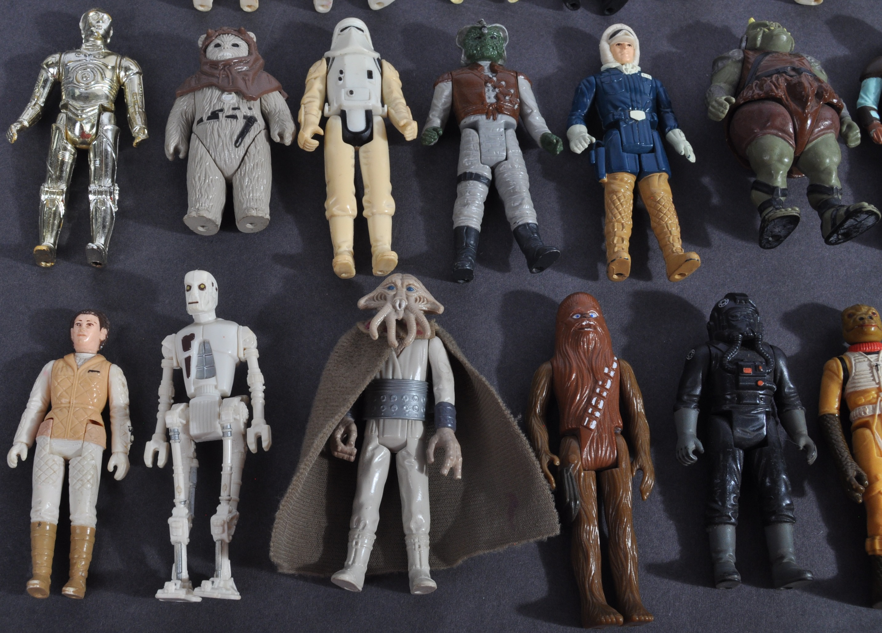 STAR WARS - COLLECTION OF VINTAGE KENNER / PALITOY ACTION FIGURES - Image 5 of 7