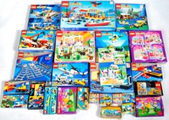 COLLECTION OF VINTAGE EMPTY LEGO BOXES & STORAGE CONTAINERS