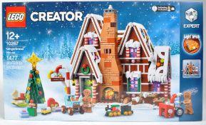 LEGO SET - LEGO CREATOR - 10267 - GINGERBREAD HOUSE
