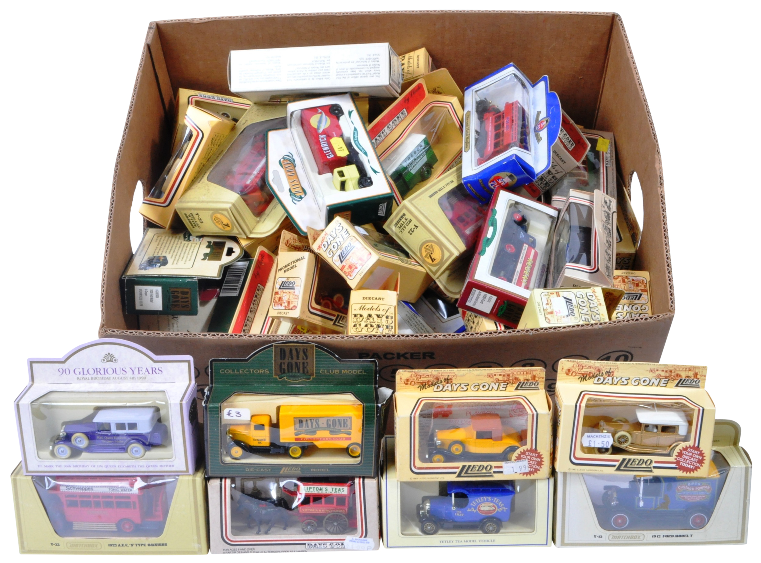 LARGE COLLECTION OF ASSORTED BOXED DIECAST - LLEDO, MATCHBOX