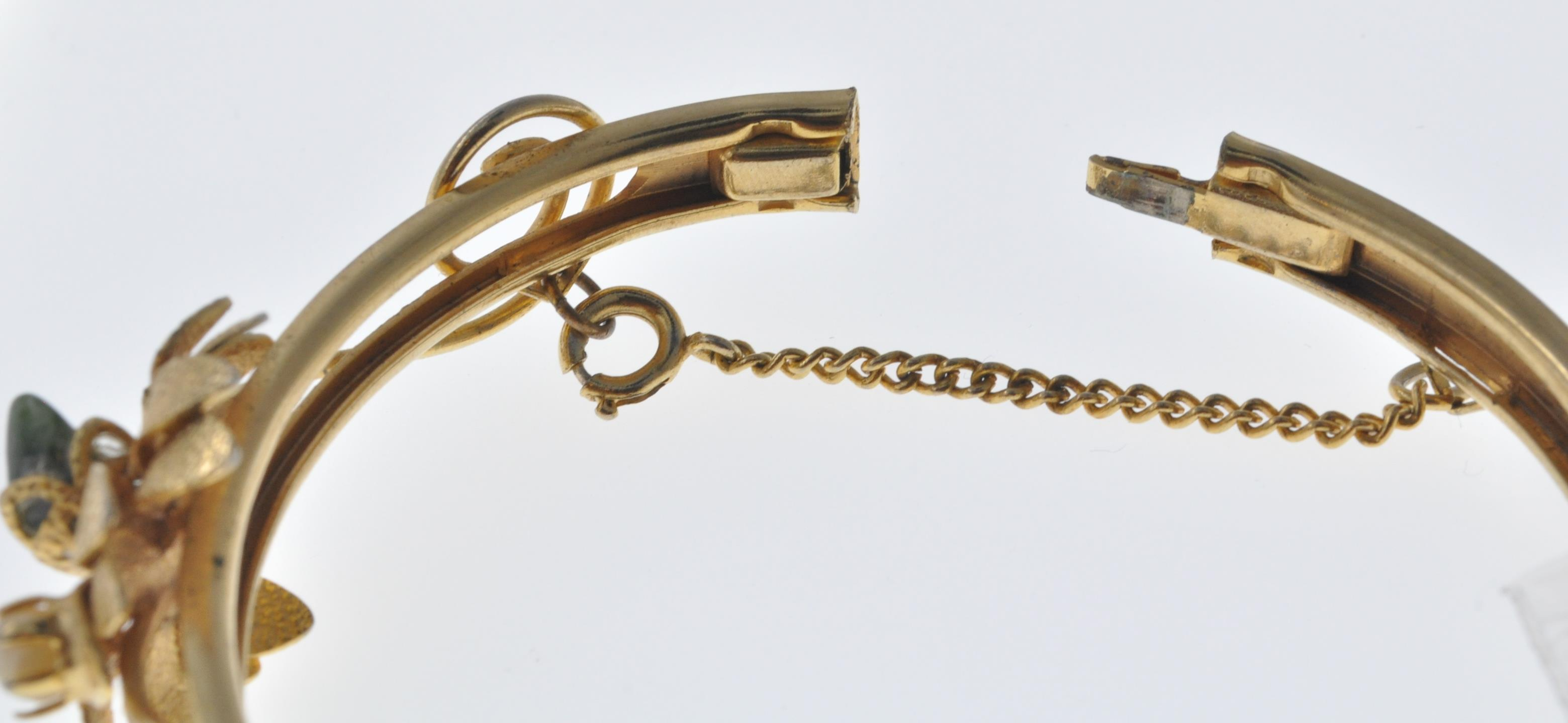VINTAGE BANGLE AND NECKLACE - Image 6 of 9