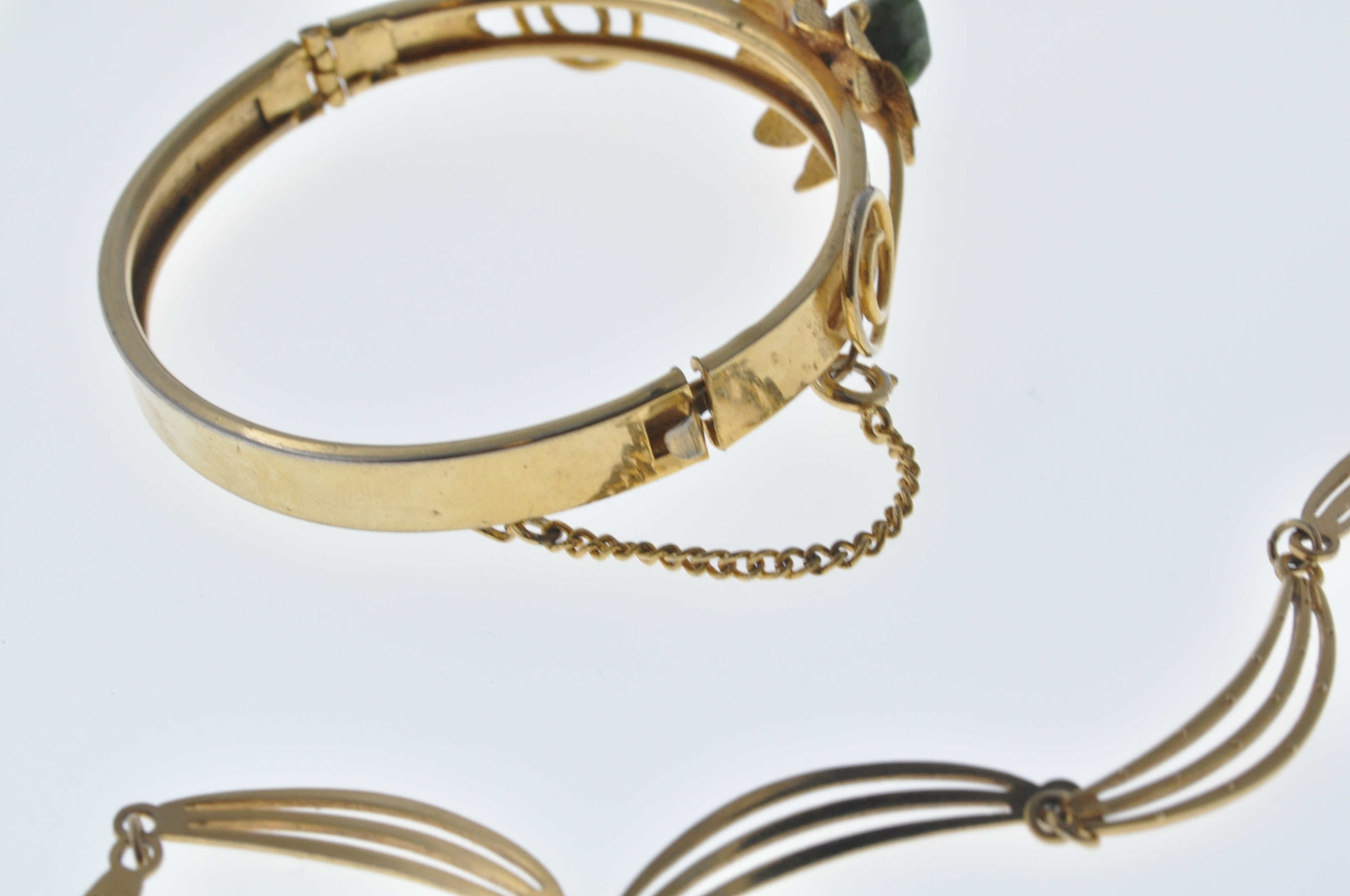 VINTAGE BANGLE AND NECKLACE - Image 5 of 9