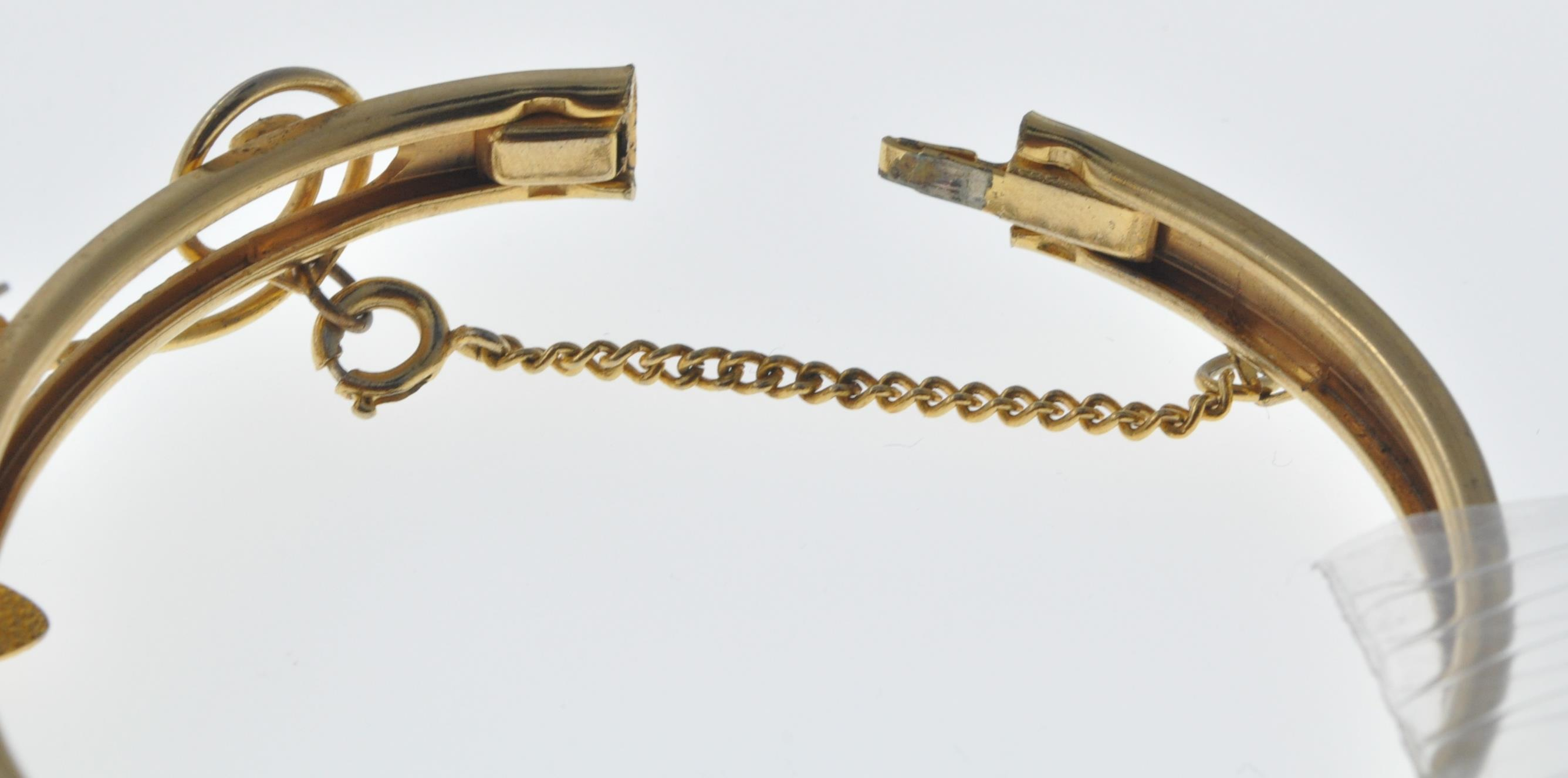 VINTAGE BANGLE AND NECKLACE - Image 7 of 9