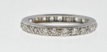 VINTAGE DIAMOND FULL ETERNITY RING