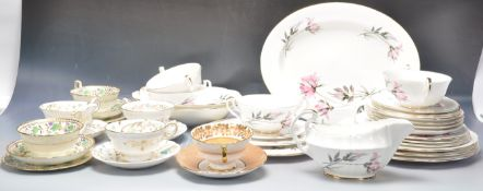COLLECTION OF VINTAGE 20TH CENTURY DINNER SERVICES