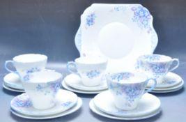 VINTAGE 20TH CENTURY SHELLEY TEA SERVICE