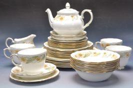 20TH CENTURY DUCHESS PORCELAIN CHINTZ PATTERN TEA SET
