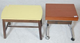 TWO VINTAGE 1970'S OCCASIONAL COFFEE TABLES