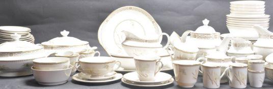 1970'S ROYAL DOULTON WHITE NILE DINNER SERVICE AND TEA SET