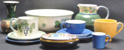 COLLECTION OF 20TH CENTURY CERAMIC PORCELAIN WARE