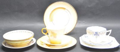 GROUP OF 1920'S SHELLEY CERAMICS