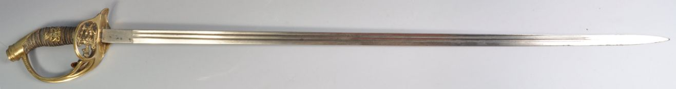 19TH CENTURY PRUSSIAN INFANTRY OFFICERS SWORD