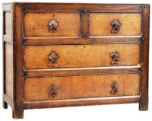 LIBERTY OF LONDON ARTS & CRAFTS OAK CHEST OF DRAWERS