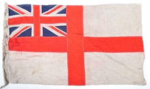 WWII SECOND WORLD WAR RELATED ROYAL NAVY WHITE ENSIGN