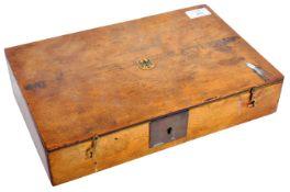 VINTAGE GERMAN LUGER OR SIMILAR 9MM PISTOL BOX