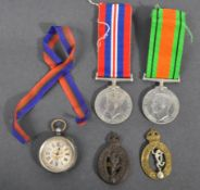 WWII SECOND WORLD WAR MEDAL GROUP - ROYAL CORPS OF SIGNALS
