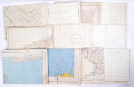WWII SECOND WORLD WAR UNITED STATES AIR FORCE USAAF MAPS