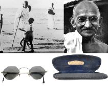 MAHATMA GANDHI (1869-1948) - PAIR OF PERSONALLY OWNED SPECTACLES