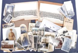 MILITARY PHOTOGRAPHS - COLLECTION OF WWI & WWII
