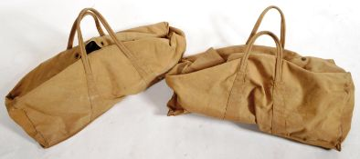 TWO ORIGINAL WWII SECOND WORLD WAR A.T.S KIT BAGS