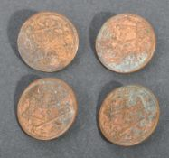 EARLY 19TH CENTURY NAPOLEONIC WAR IMPERIAL GUARDS TUNIC BUTTONS