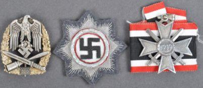 WWII SECOND WORLD WAR RELATED THIRD REICH GERMAN MEDALS / BADGES